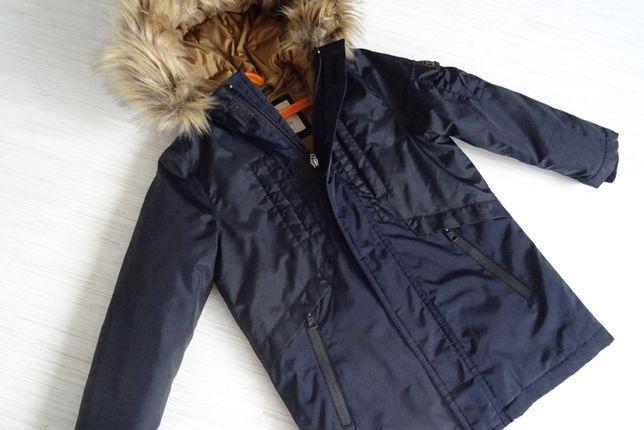 ZARA kurtka zimowa chłopięca 116