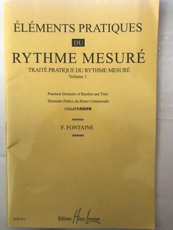 Elements pratiques rythme mesure v1 FONTAINE, F (Autor)