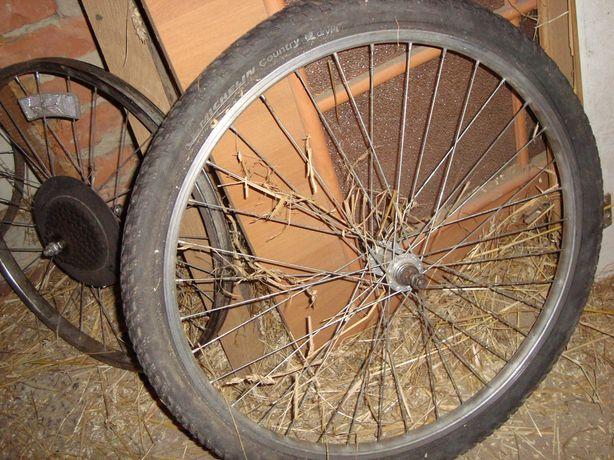 Велоколесо 24  Велоколесо 26 переднє заднє сталь дюраль