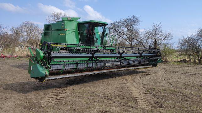 Оренда комбайна для уборки зернових культур.