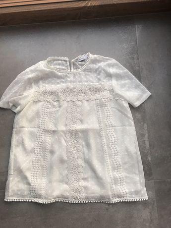 Biała koronkowa bluzka Reserved - roz.36 nowa