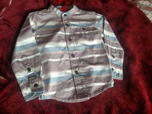 Рубашка для мальчика фирменная модная 2-3 года