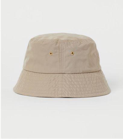 bucket hat bezowy nowy