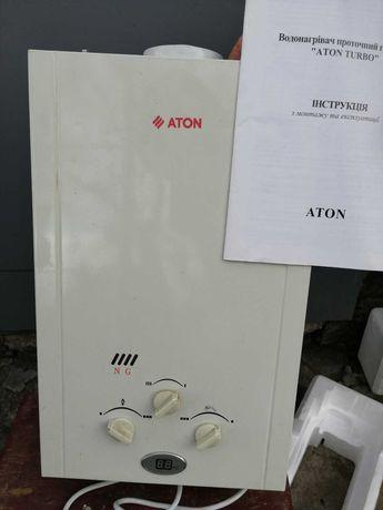 Газовый проточный водонагреватель ATON  JSG 16-8 CD