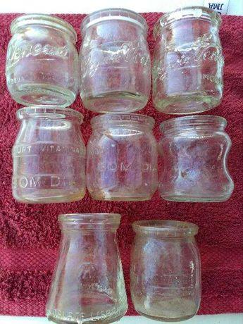 Boiões de iogurtes antigos diversas marcas