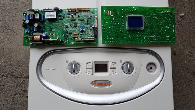 Immergas Victrix błąd E20 E37 płyta główna sterownik X 12 24 26 EXA