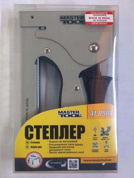 Степлер строительный 4-14 мм Mastertool 41-0904