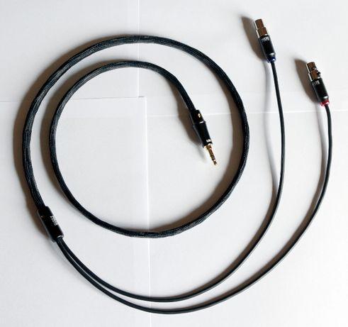 Cabo Auscultadores - Meze Empyrean - 3.5mm Jack Plug - 4 pin mini-XLR