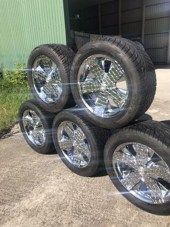 Хромированые колёса