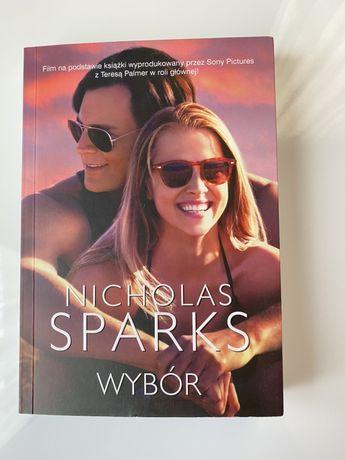 """Książka """"Wybór"""" Nicholas Sparks"""