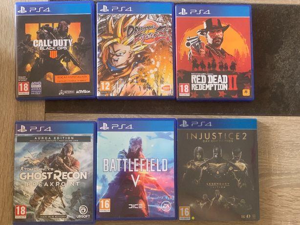 Jogos PS4 - Consultar anúncio
