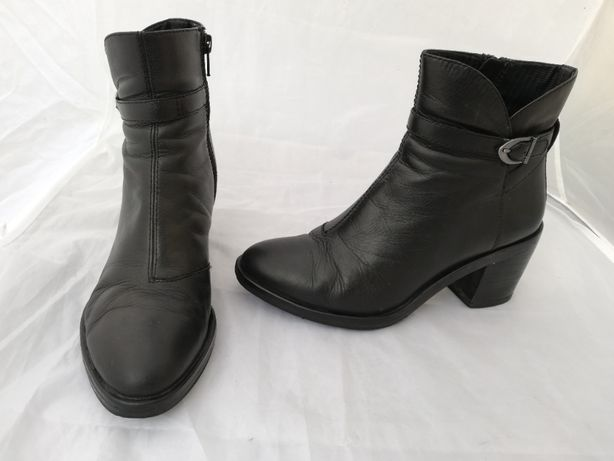 Buty botki skórzane Vagabond r. 37 , wkł 24,5 cm