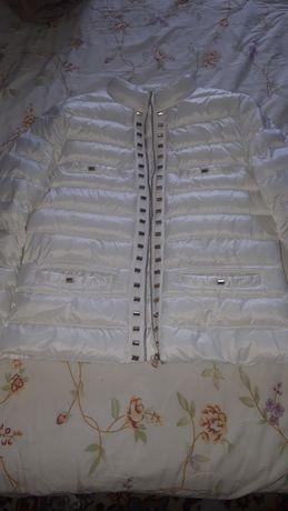 Белая куртка отличное качество