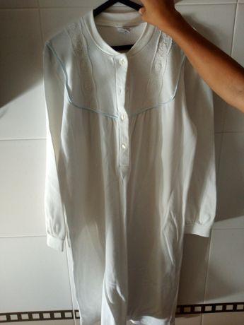Camisa de noite tecido quente