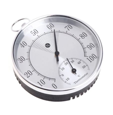 Higrómetro Termómetro 100mm Analógico (humidade e temperatura)