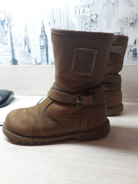 Деми ботинки натуральная кожа 26р-р