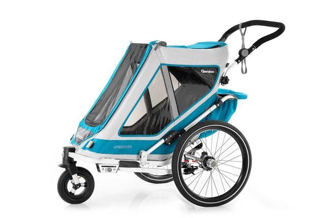 Przyczepka rowerowa Qeridoo Speedkid 1 2021