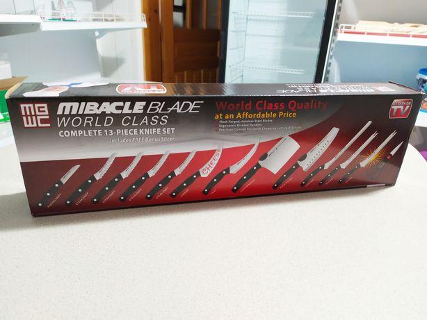 Кухонные ножи набор 13 в 1 MBWC Miracle Blade World Class