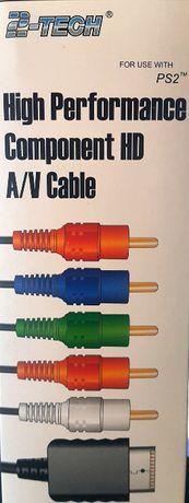 Kabel Komponent PS2 PS3