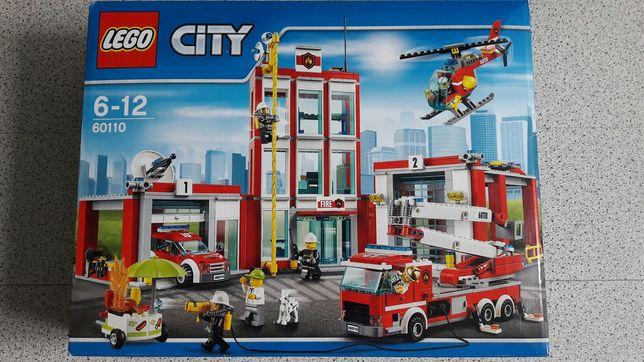 Конструктор Лего Сити Lego city 60110 (пожарная часть) оригинал