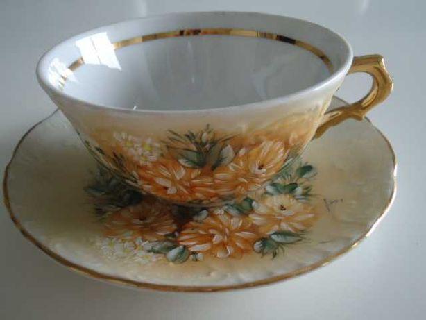 Chávena pintada à mão
