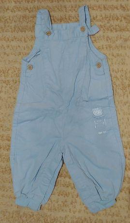 Ubranka dziecięce - ogrodniczki / spodnie 62
