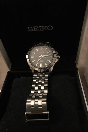 наручные часы Seiko SNE161P2 на солнечной батарее Япония оригинал