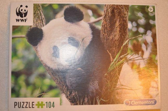 Clementoni puzzle 104 WWF Panda