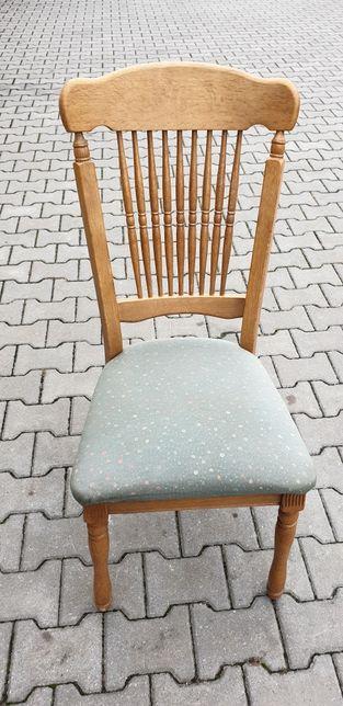 Stół krzesła drewno