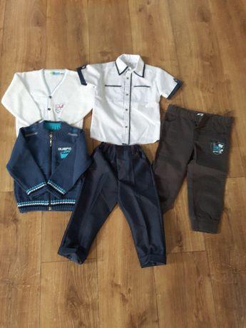 Ubrania dla chłopca rozmiar 86