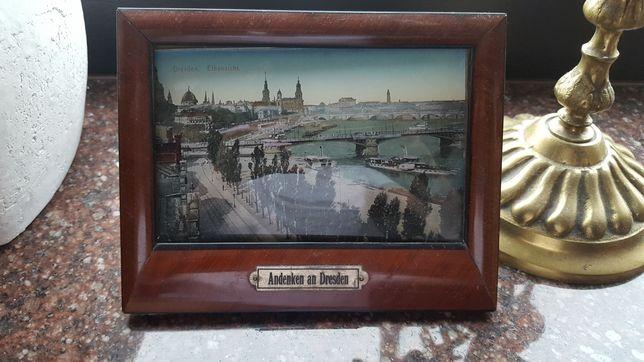 Przedwojenna pamiątka z Drezna