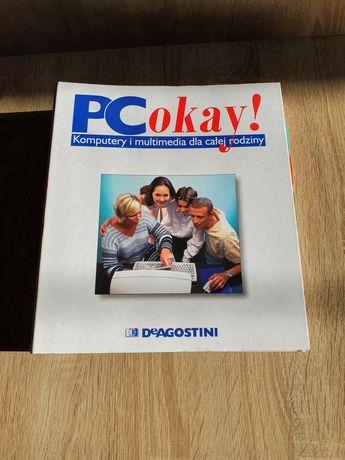 Czasopismo gazeta PC OKAY z segregatorem