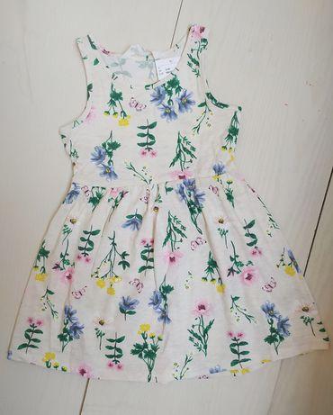 Платье HM на девочку 92,98,104,110,116,122,128