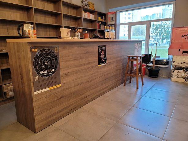 Барная стойка для кафе, кофейни или магазина
