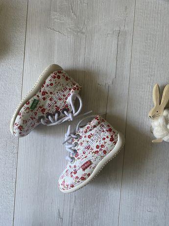Кожаные ботиночки kickers 20 размер