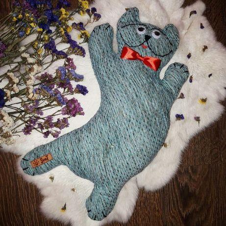 HAND MADE Подушка, кот, игрушка, подарок