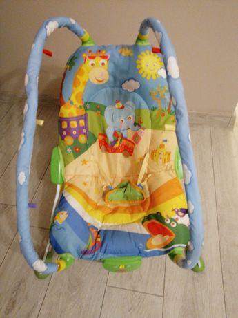 Leżaczki i mata dla niemowląt