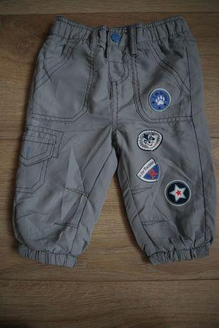 spodnie ocieplane 68 zima