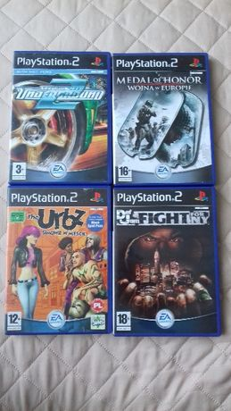 GRY! -NFS,medal of honor,urbz PlayStation 2 PS2