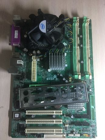 Материнская плата BIOSTAR 945P A7A + e4600