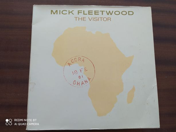 Mick Fleetwood ‎– The Visitor Vinyl,Gatefold 1981 Germany