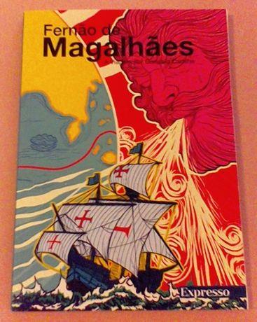 """Livro: """"Fernão de Magalhães - A Viagem por Gonçalo Cadilhe"""" (Expresso)"""