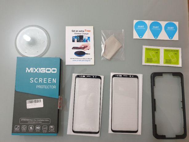 2 Protetores de Vidro Temperado Mixigoo 9H 3D Curvo Samsung Galaxy S9
