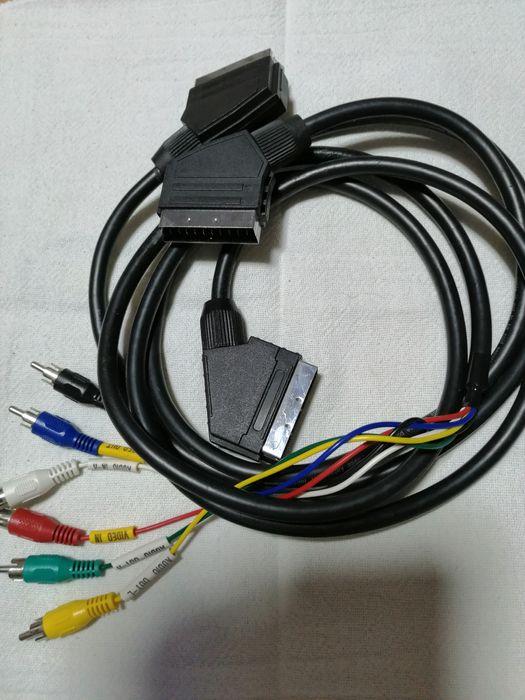 Cabo USB 3.0, CABO RCA, CABO VGA, Cabo com scary para RCA Santo António da Charneca - imagem 1