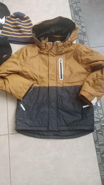 Куртка НМ еврозима, демисезон, брюки утепленные, аксессуары 6-7 лет