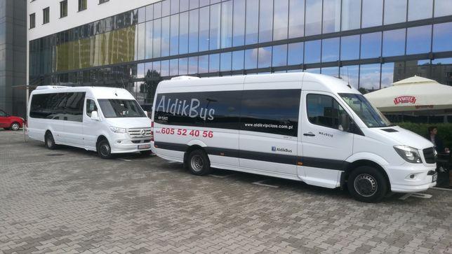 Przewóz osób, transport osób, wynajem busa, transfery, współpraca