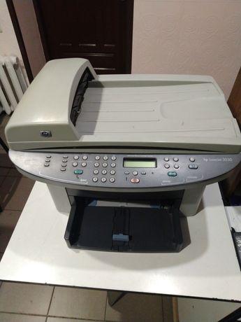 Лазерный принтер МФУ копир сканер hp LaserJet 3030