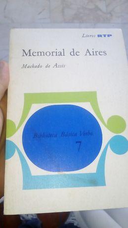 Memorial de Aires - Machado de Assis (Edição de 1972)