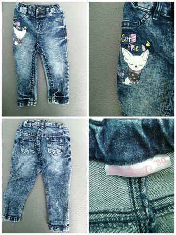 Spodnie i spódniczka dla dziewczynki