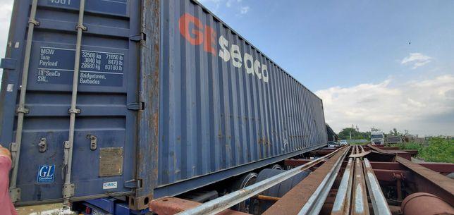 Контейнер морской 40футов GE SEACO High Cube 2.9 высота, 12 метров